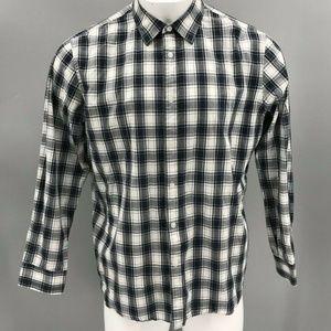 Michael Kors Men's Tailored Fit Plaid Shirt Sz XXL